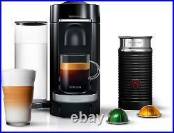 Nespresso Vertuoplus Deluxe Coffee and Espresso Maker Bundle with Aeroccino Milk