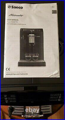 Philip Saeco Minuto HD8775/48 Superautomatic Espresso Machine & Coffee Maker