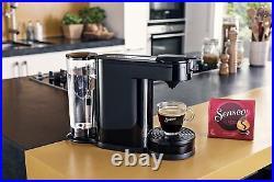 Philips 2 in 1 Filter Pod Coffee Machine Espresso Maker Thermos Jug Black Senseo