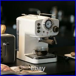 Rare Collection Coffee Maker 15Bar Espresso Vintage Retro Style Electric Machine