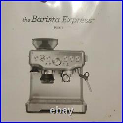 SAGE Barista Express Bean to Cup Coffee Machine BES875UK Black Espresso Maker