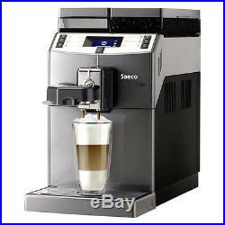 Saeco Lirica One Touch automatic Cappuccino Espresso coffee maker Titanium color