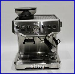Sage Barista Express Espresso Maker Coffee Machine BES870 Silver 002