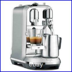 Sage Nespresso Creatista Plus BNE800/SNE800 Espresso Coffee Maker Silver/Black'