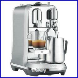 Sage Nespresso Creatista Plus Coffee Maker with Automatic Steam Milk Wand Silver