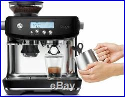 Sage The Barista Pro Coffee Espresso Maker Machine Stainless Steel Black £699`