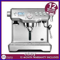 Sage The Dual Boiler Coffee Espresso Maker Machine Silver BES920UK Kitchen