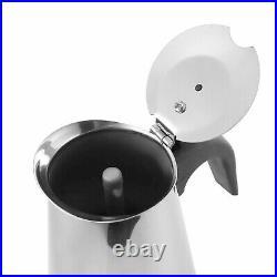 Stainless Steel 9 Cup Percolator Continental Espresso Coffee Maker Italian Pot