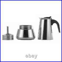 Stainless Steel 9 Cup Percolator Italian Pot Continental Espresso Coffee Maker