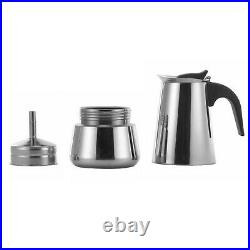 Stainless Steel Coffee Maker 9 Cup Continental Espresso Percolator Italian Pot