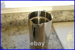 Stelton Stainless Steel 1L Press Coffee Maker by Arne Jacobsen