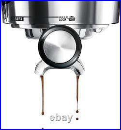 The Barista Express BES870XL Espresso hine Bar Automatic Coffee Maker, Steel