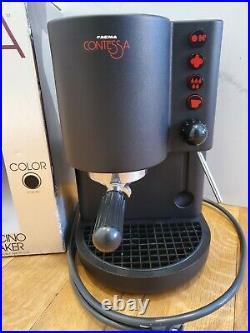 VTG 1980s POST MODERN FAEMA CONTESSA FAMILY CAPPUCCINO ESPRESSO COFFEE MAKER
